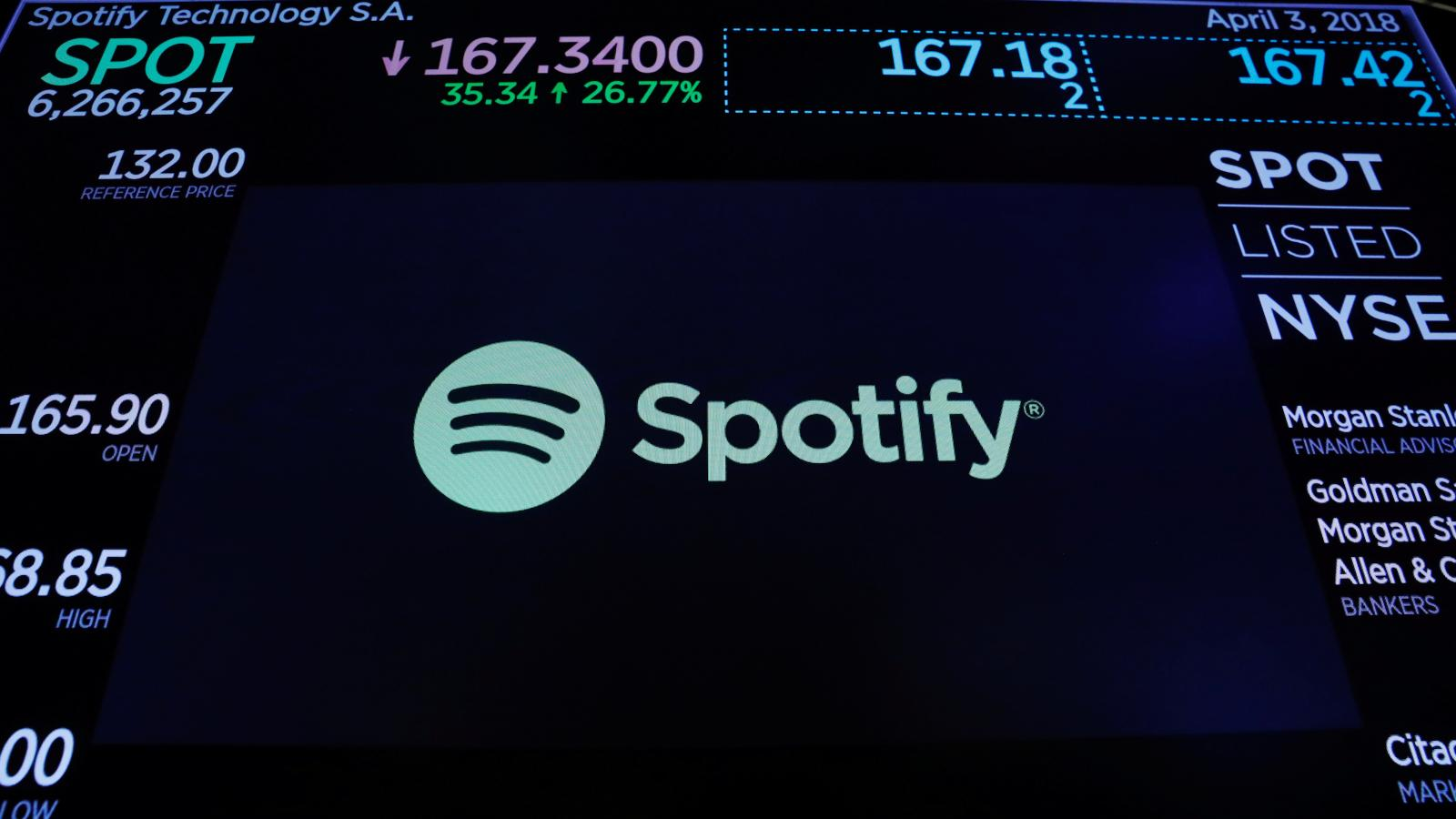 Spotify's IPO confirms it is worth more than HP, General