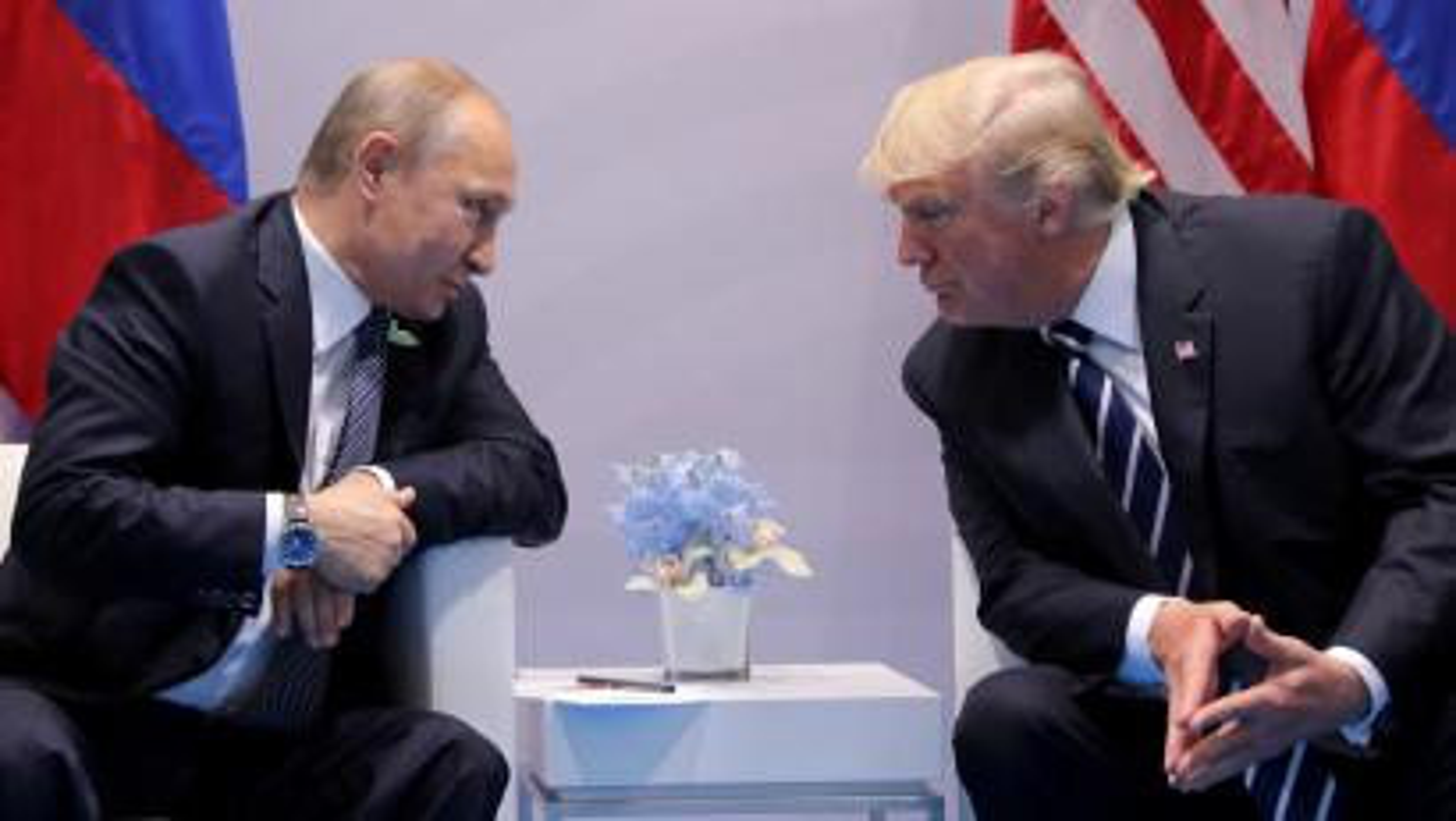 Russia's President Vladimir Putin and US President Donald Trump