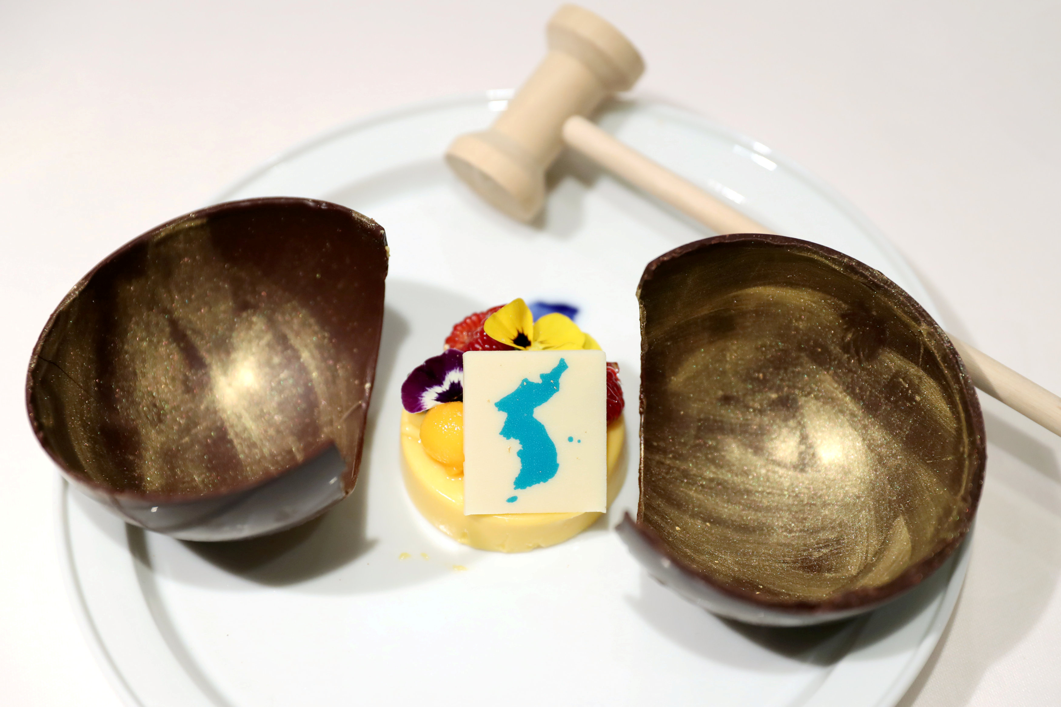dessert inter-Korea summit