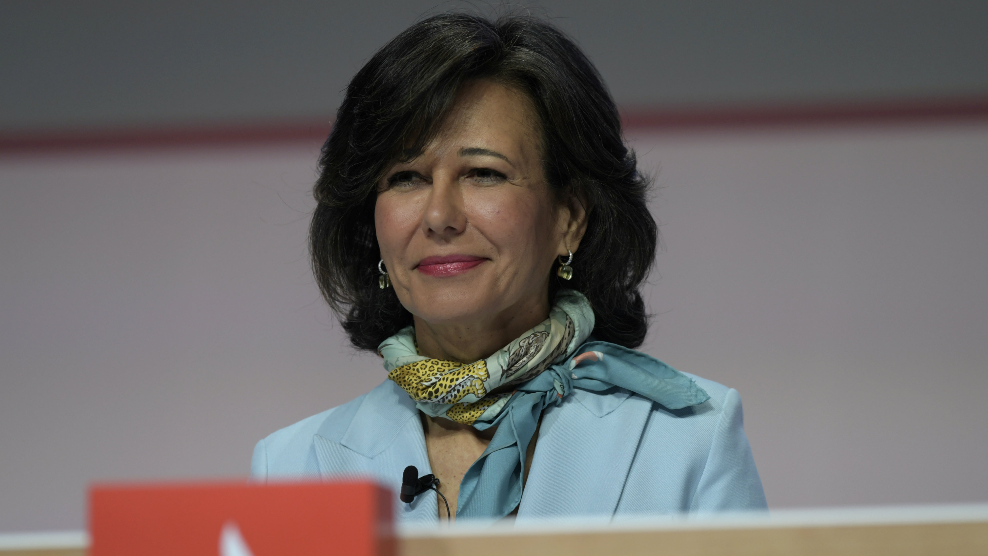 Spanish bank Santander's Executive Chairman Ana Botin addresses the annual general meeting of shareholders in Santander, Spain March 23, 2018.