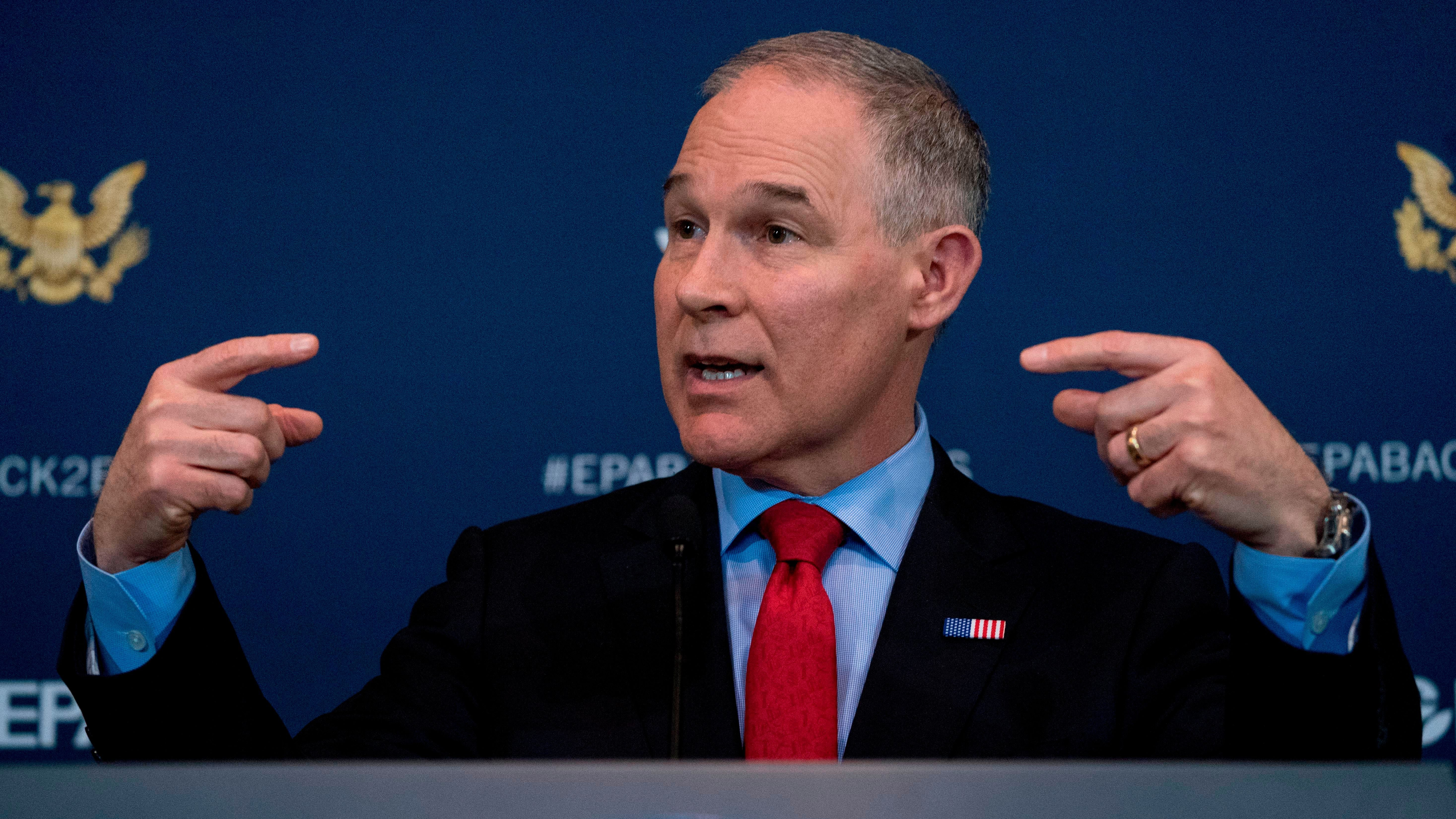 Corruption and ethics scandals have plagued EPA administrator Scott Pruitt.