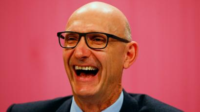 Timotheus Hoettges, CEO of Germany's telecommunications giant Deutsche Telekom AG