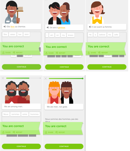Duolingo's crowdsourced language-learning model is letting some