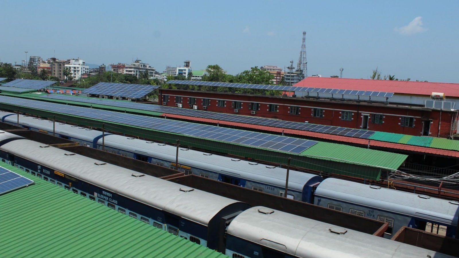 Imagini pentru assam train station solar