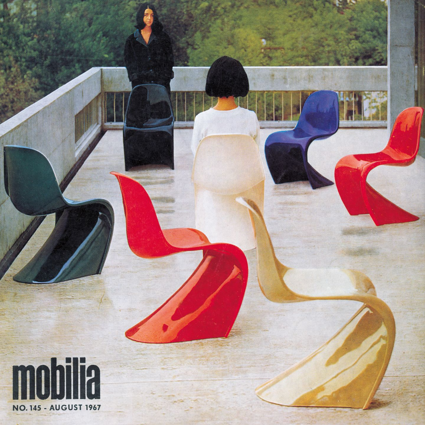 the history of the panton chair quartzy