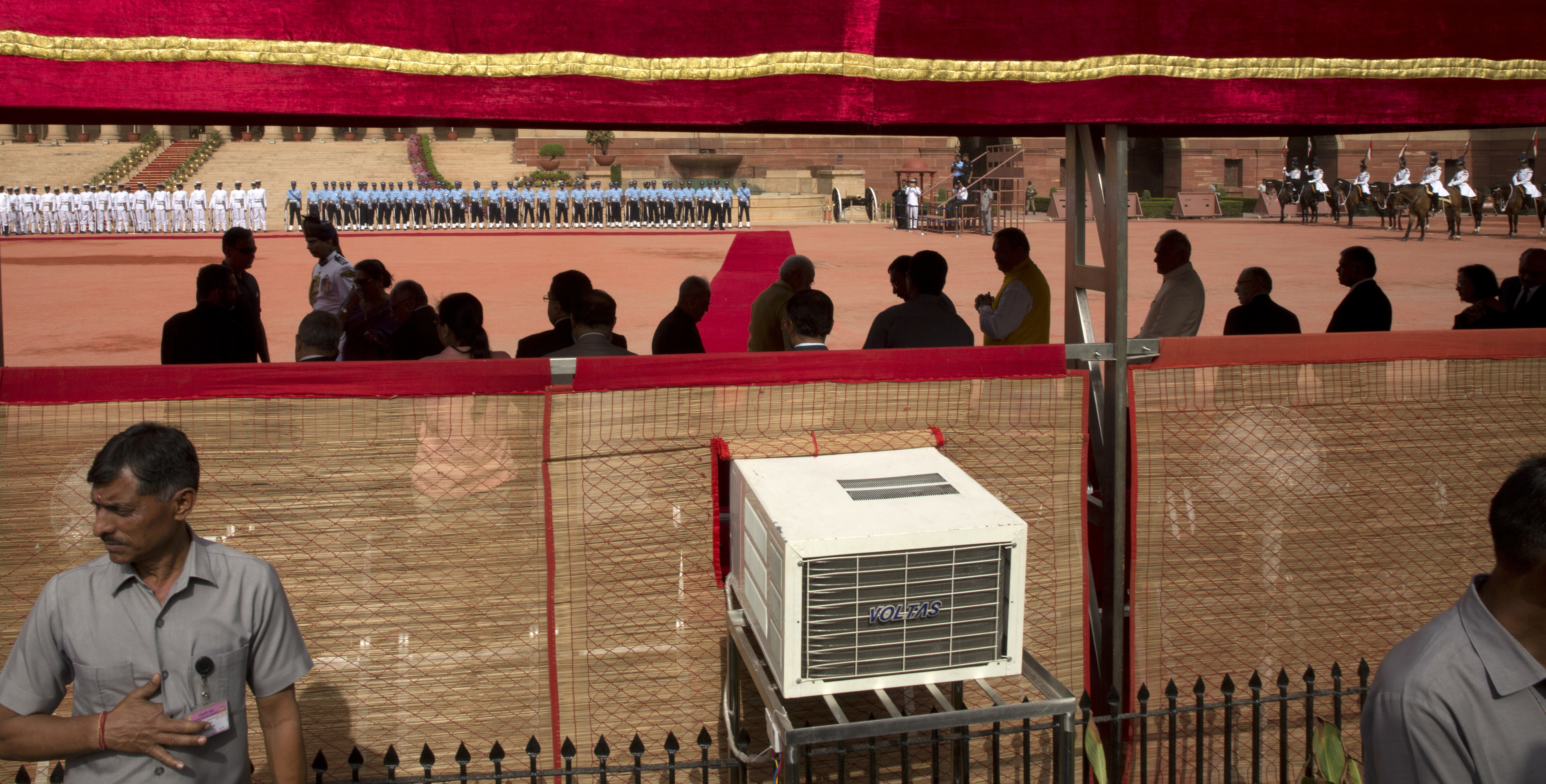 Sales of air conditioners are going way up in places like India, Indonesia, and the Middle East, all hot regions where A/C is still rare.