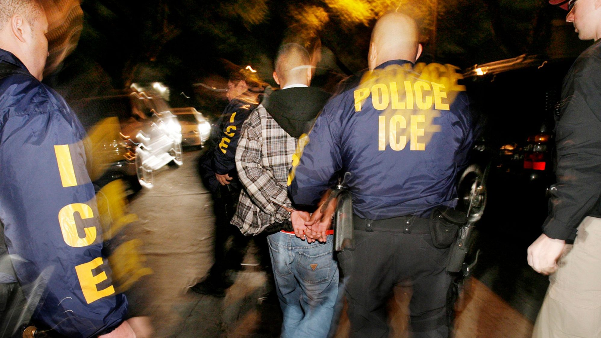Immigration and Customs Enforcement  (ICE) arrests