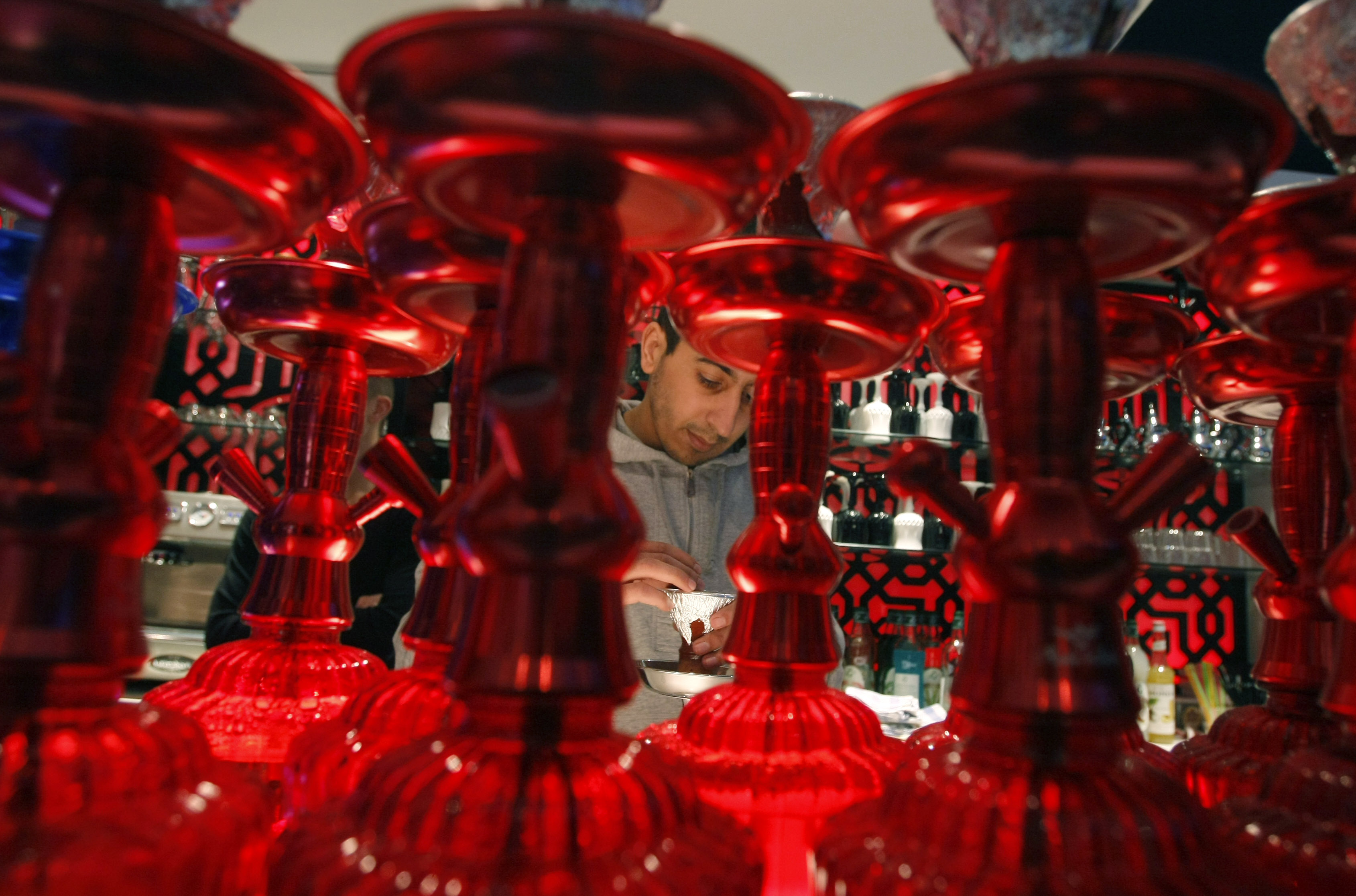 Hookah smoke carries as many, if not more, toxins than smoke from cigarettes.