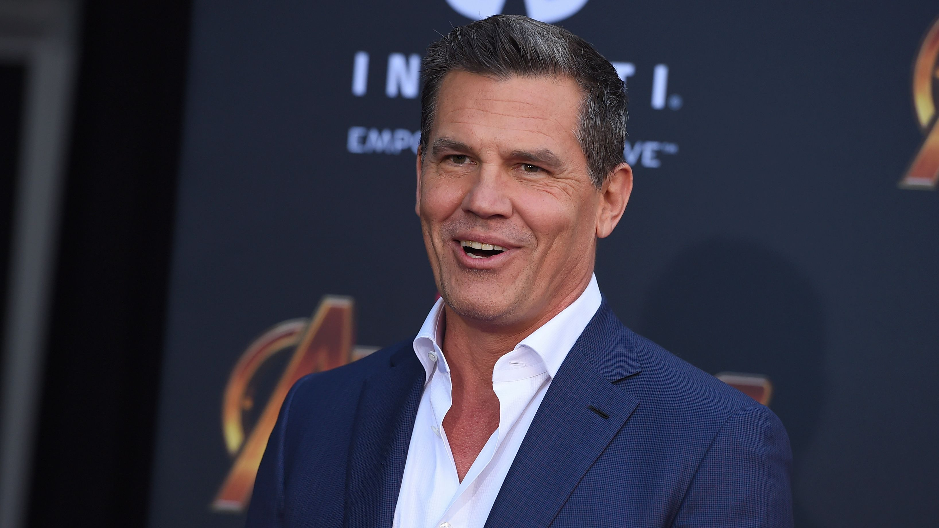 "Josh Brolin arrives at the world premiere of ""Avengers: Infinity War"" on Monday, April 23, 2018, in Los Angeles. (Photo by Jordan Strauss/Invision/AP)"