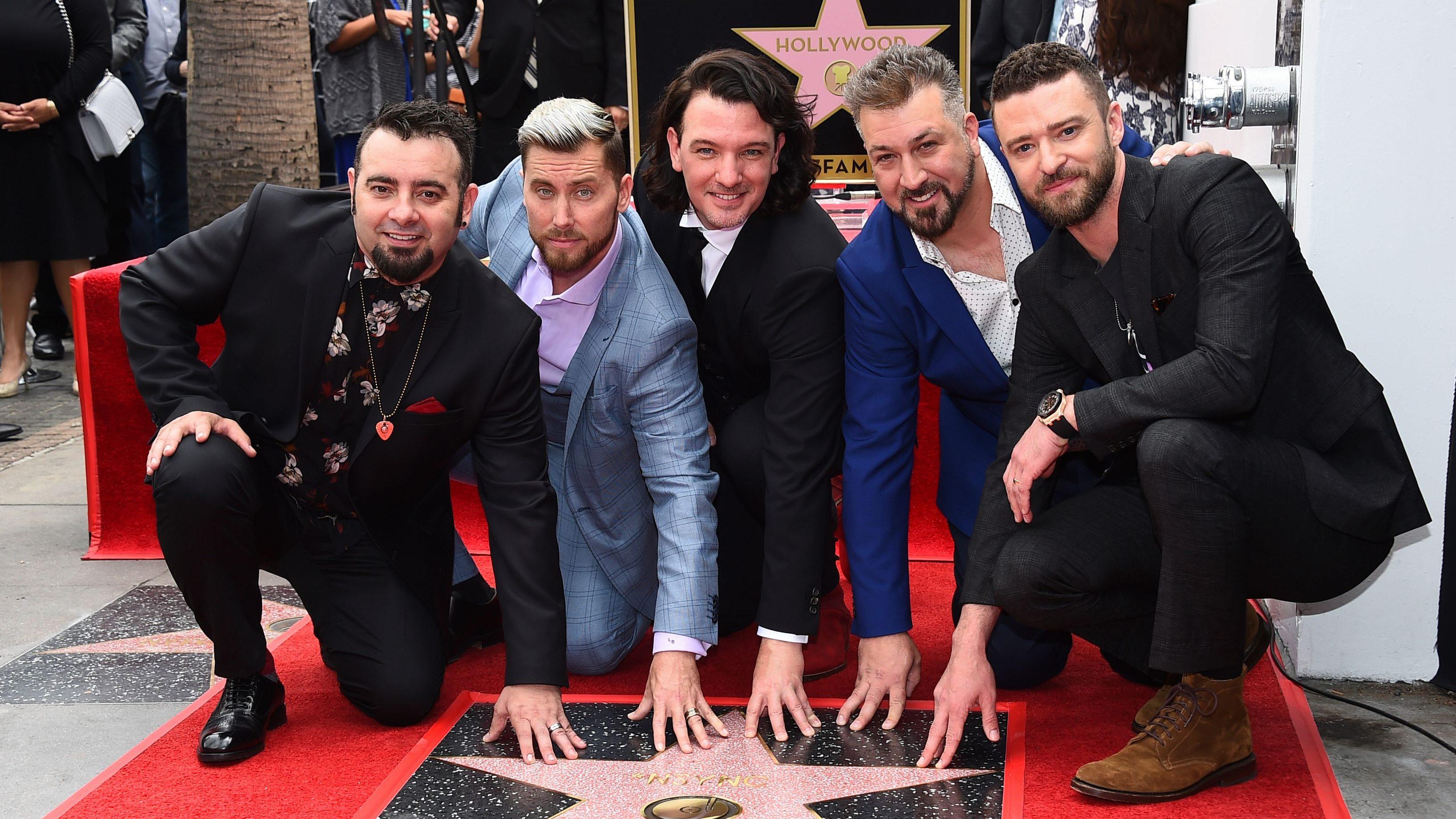 Chris Kirkpatrick, Lance Bass, JC Chasez, Joey Fatone, Justin Timberlake NSYNC