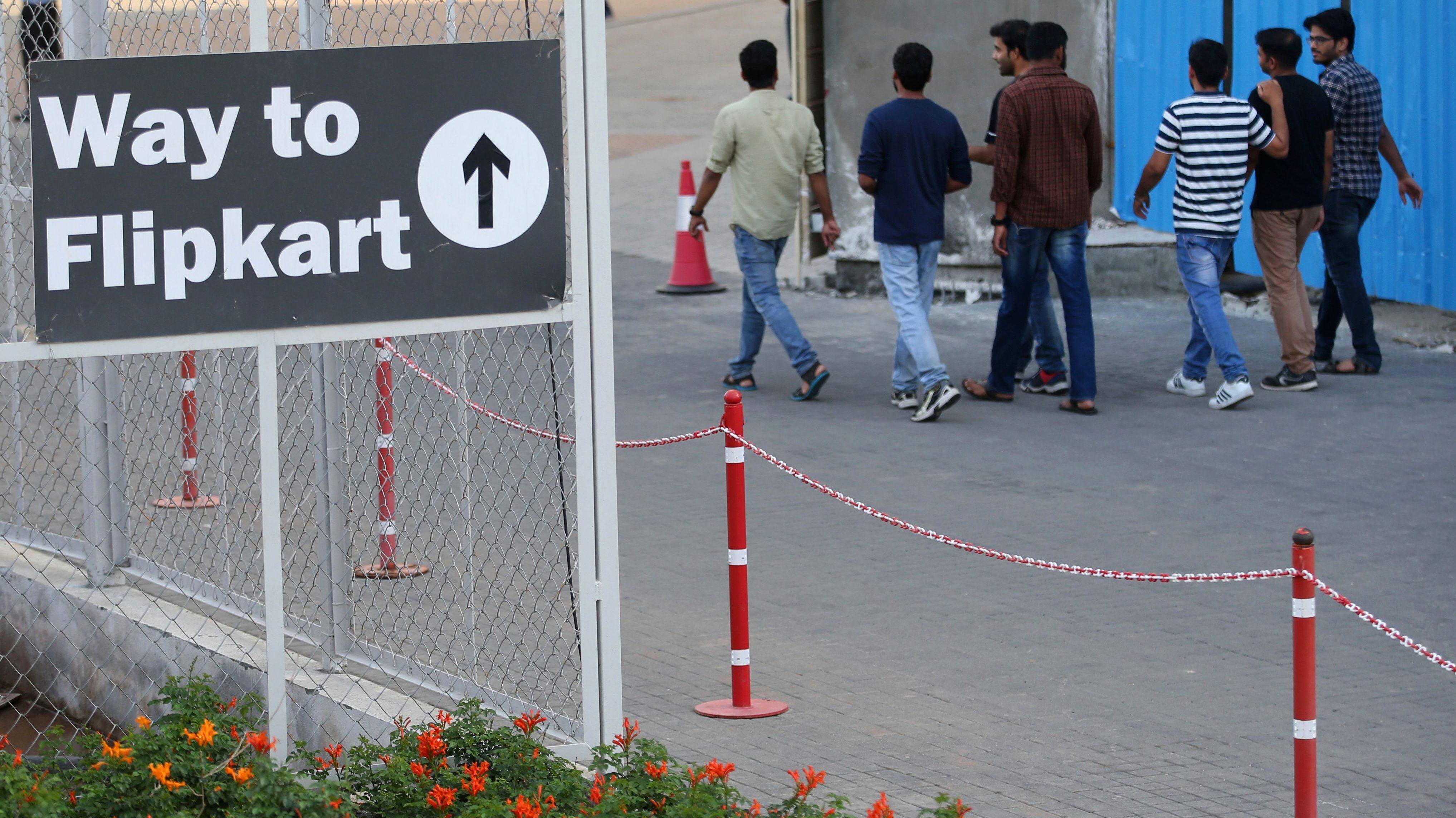 India Walmart Flipkart