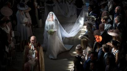Royal Wedding Meghan Markle S Beautiful Veil Was Stained By