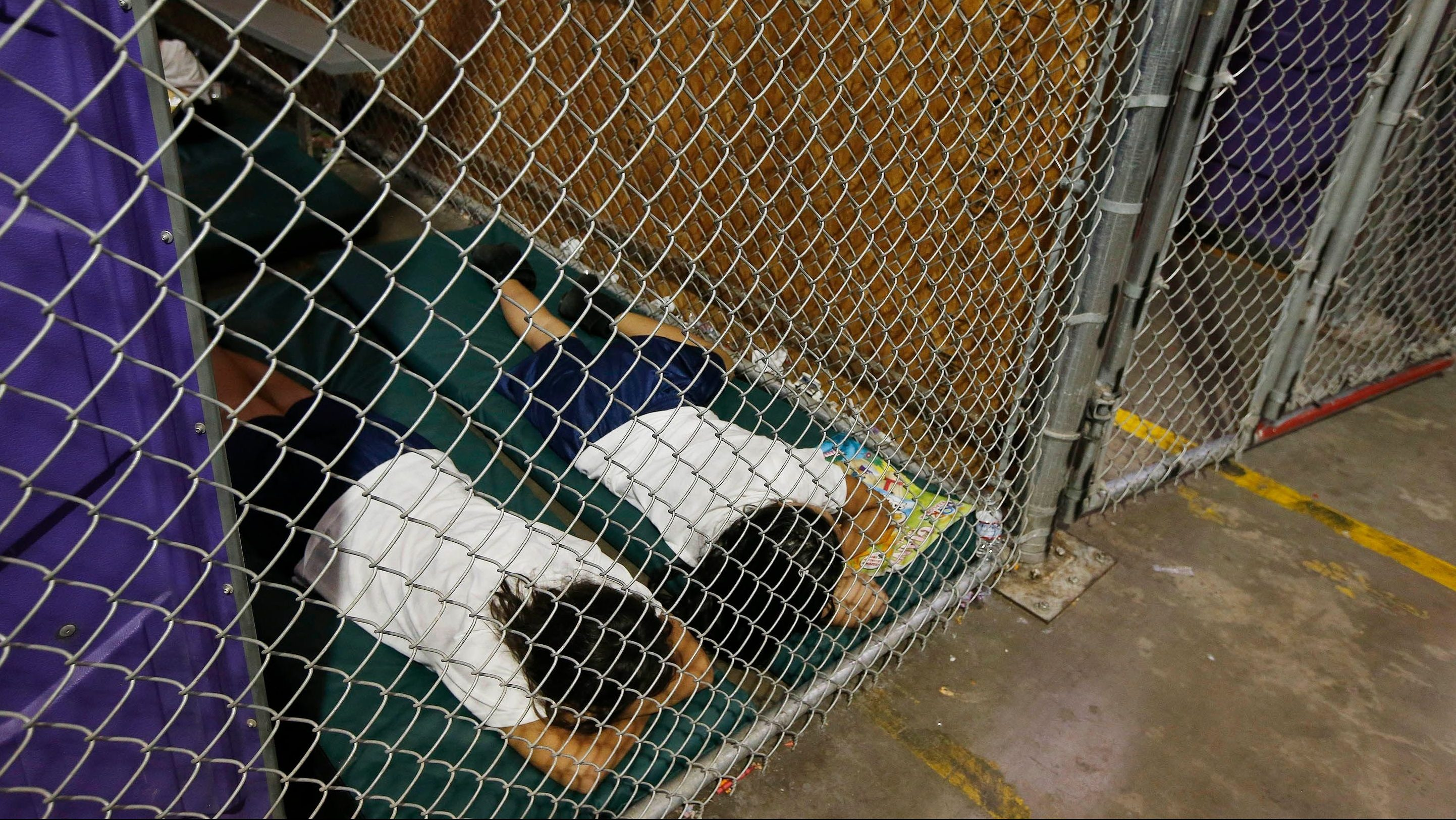 Image result for immigrant kids in cages