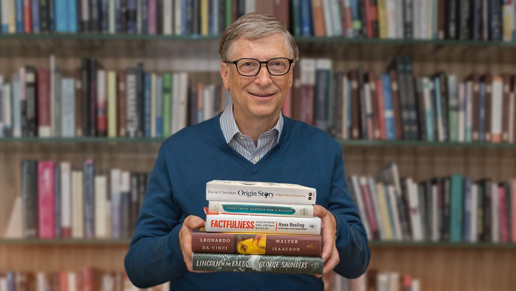 Bill Gates book list 2018: