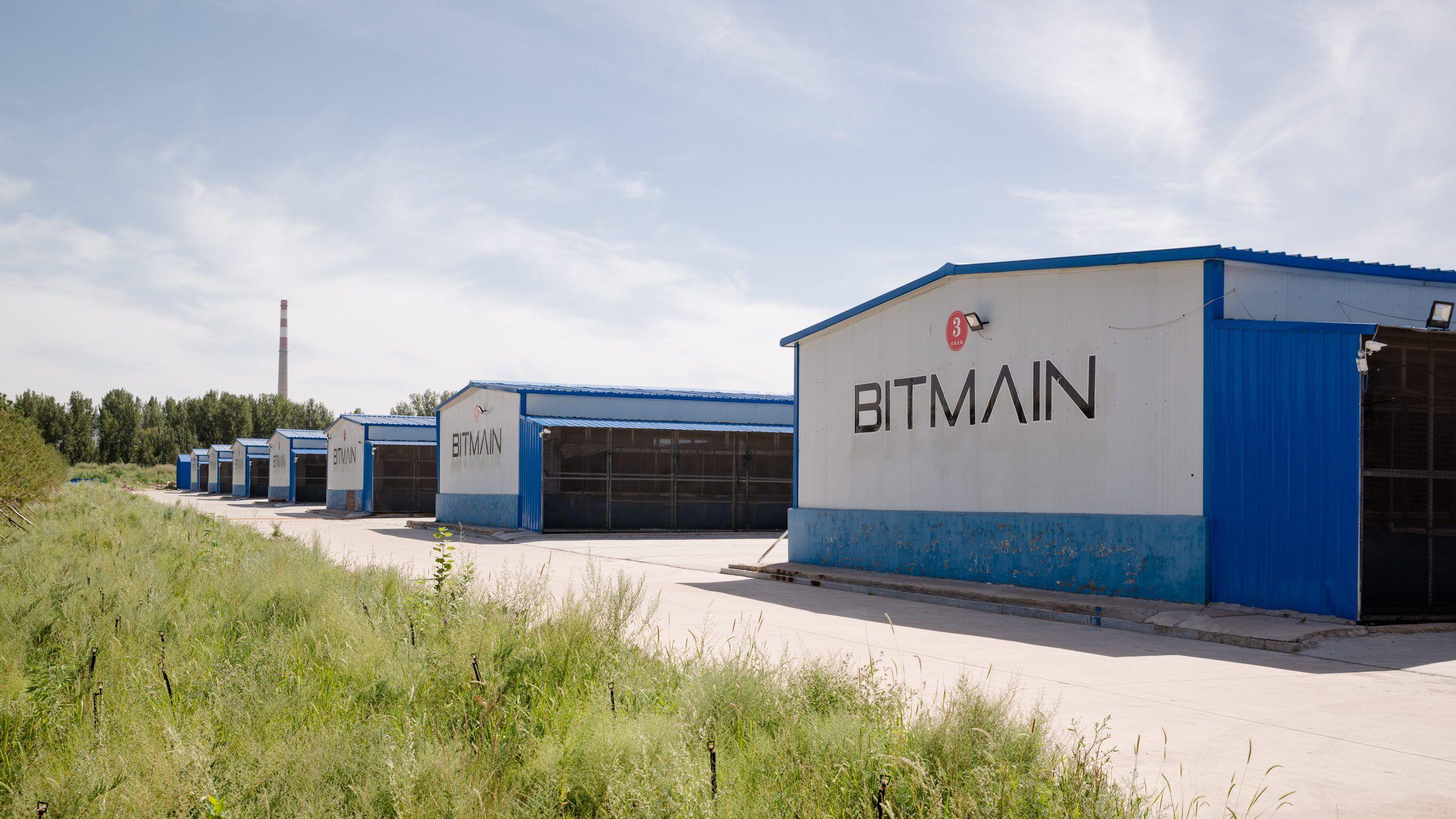 Bitmain's mining facility in Ordos, Inner Mongolia
