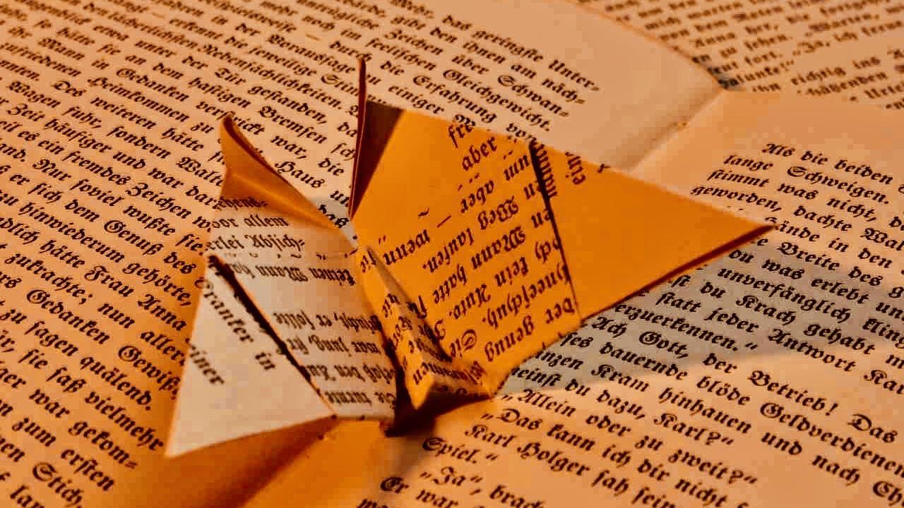 Book origami.