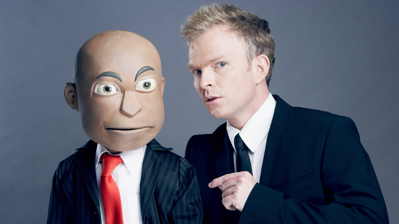 Conrad Koch and puppet Chester Missing in earlier years.