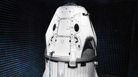 The SpaceX Dragon 2 is designed to carry seven astronauts to the International Space Station.