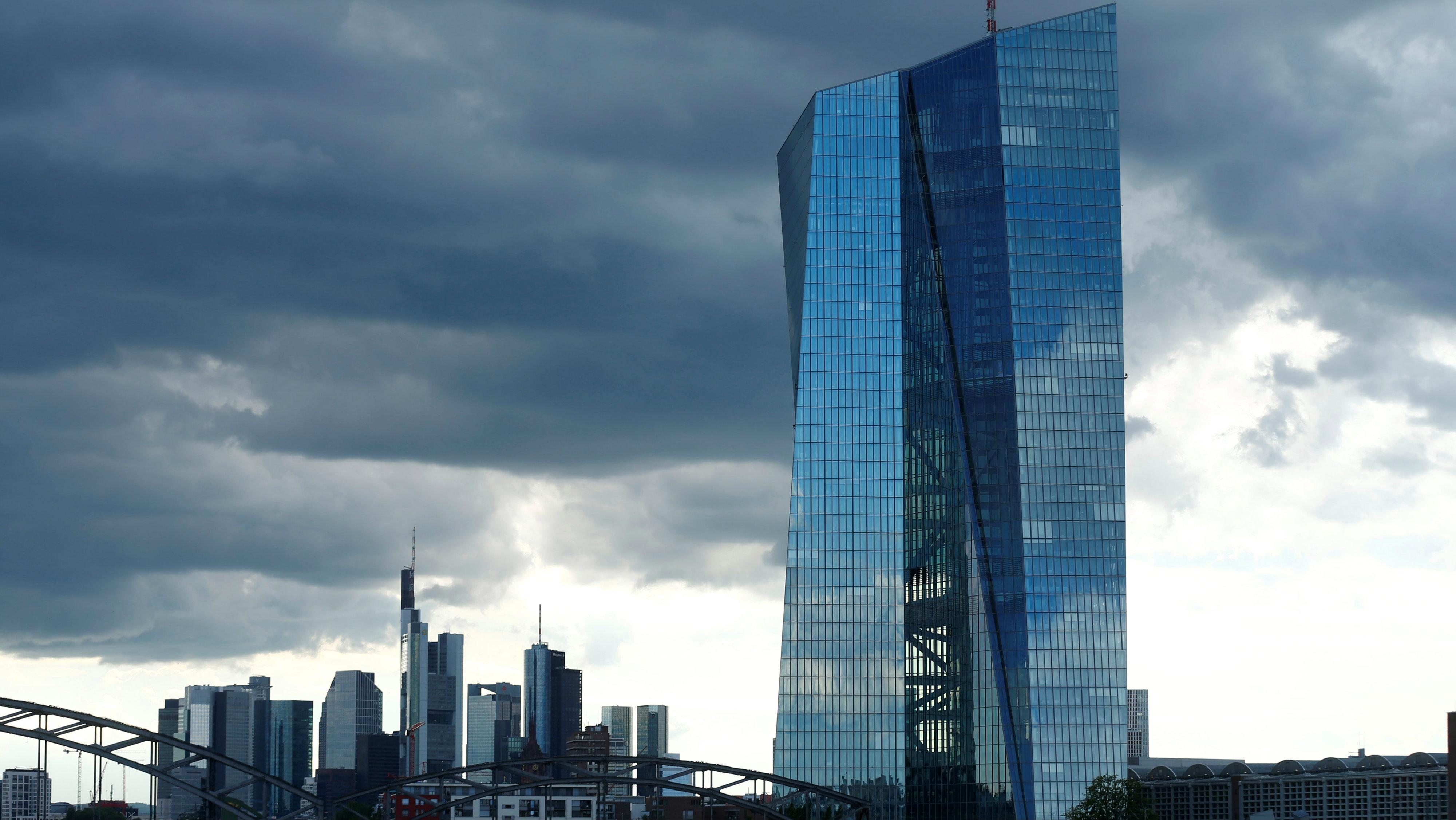 European Central Bank (ECB) headquarters in Frankfur