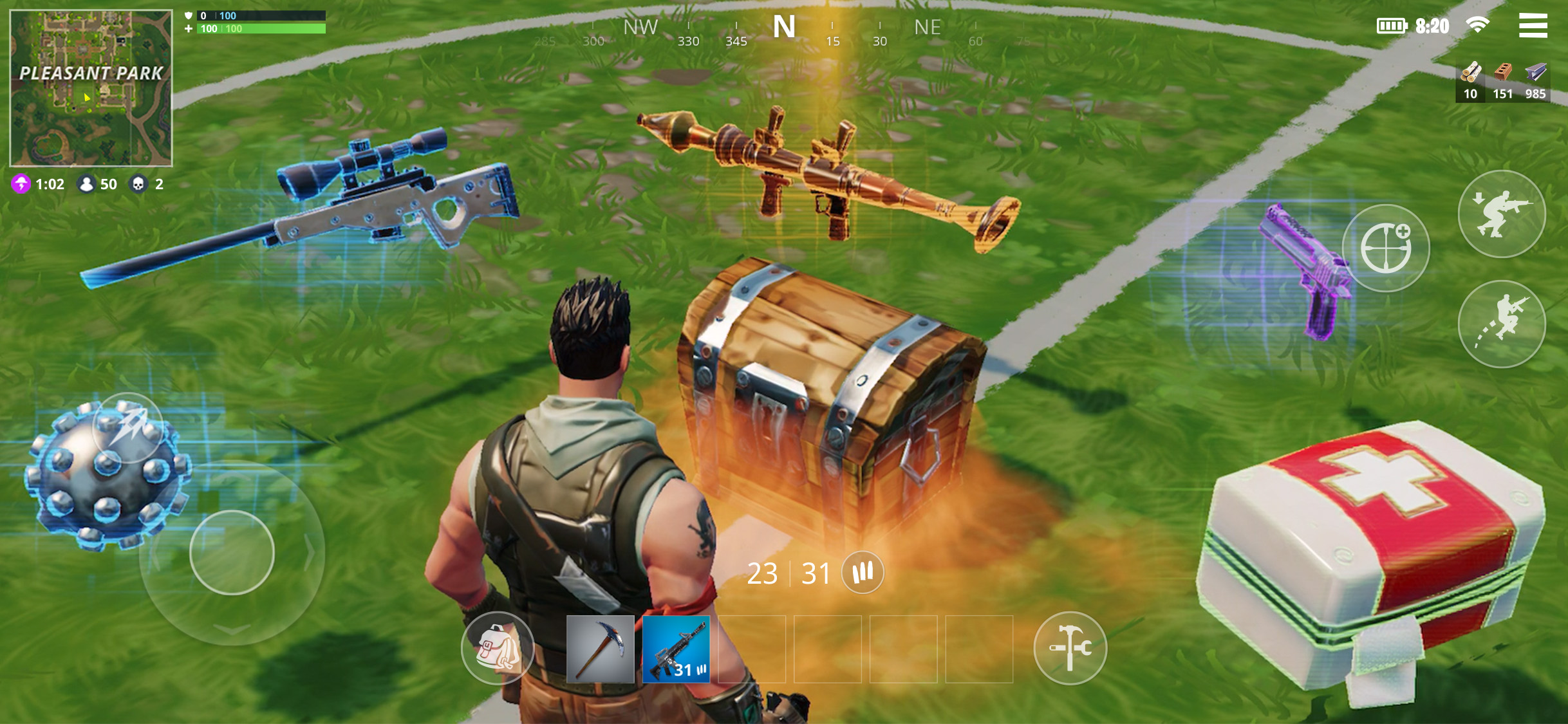 You can still win in Fortnite without being good at building, but you should probably still learn.