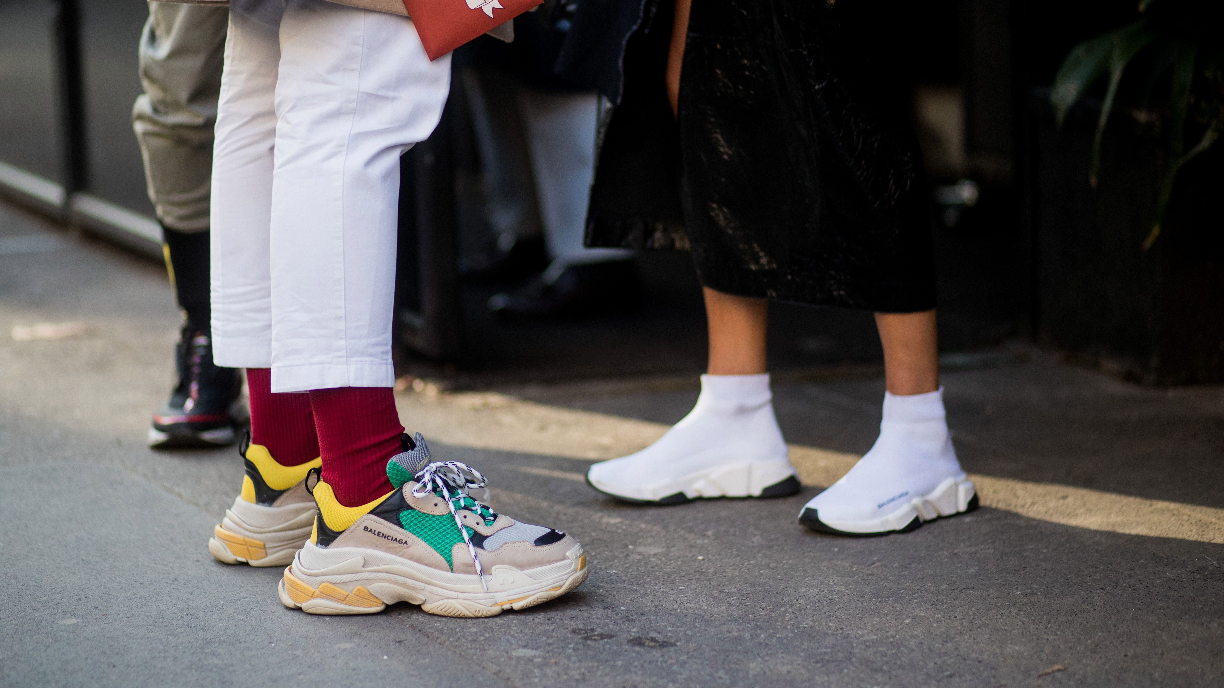 Balenciaga Triple S sneakers are a huge success — Quartz