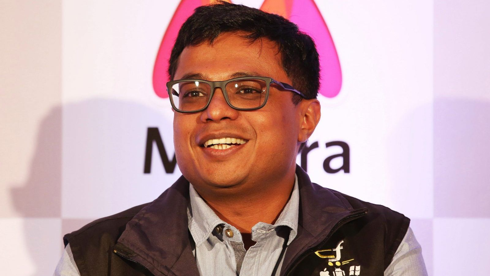 epa04744454 Flipkart CEO Sachin Bansal addresses a news conference in Bangalore, India, 12 May 2015. India?s e-commerce giants Flipkart and largest online fashion retailer Myntra will become a mobile app-only shopping platform starting 15 May, which intended to accelerate a consumer shift towards using smartphones to shop online, save cost and reduce dependence. The number of mobile Internet users in India is expected to reach 213 million by June, according to a 2014 report and it will be approximately 480 million mobile Internet users by end of 2017.  EPA/JAGADEESH NV