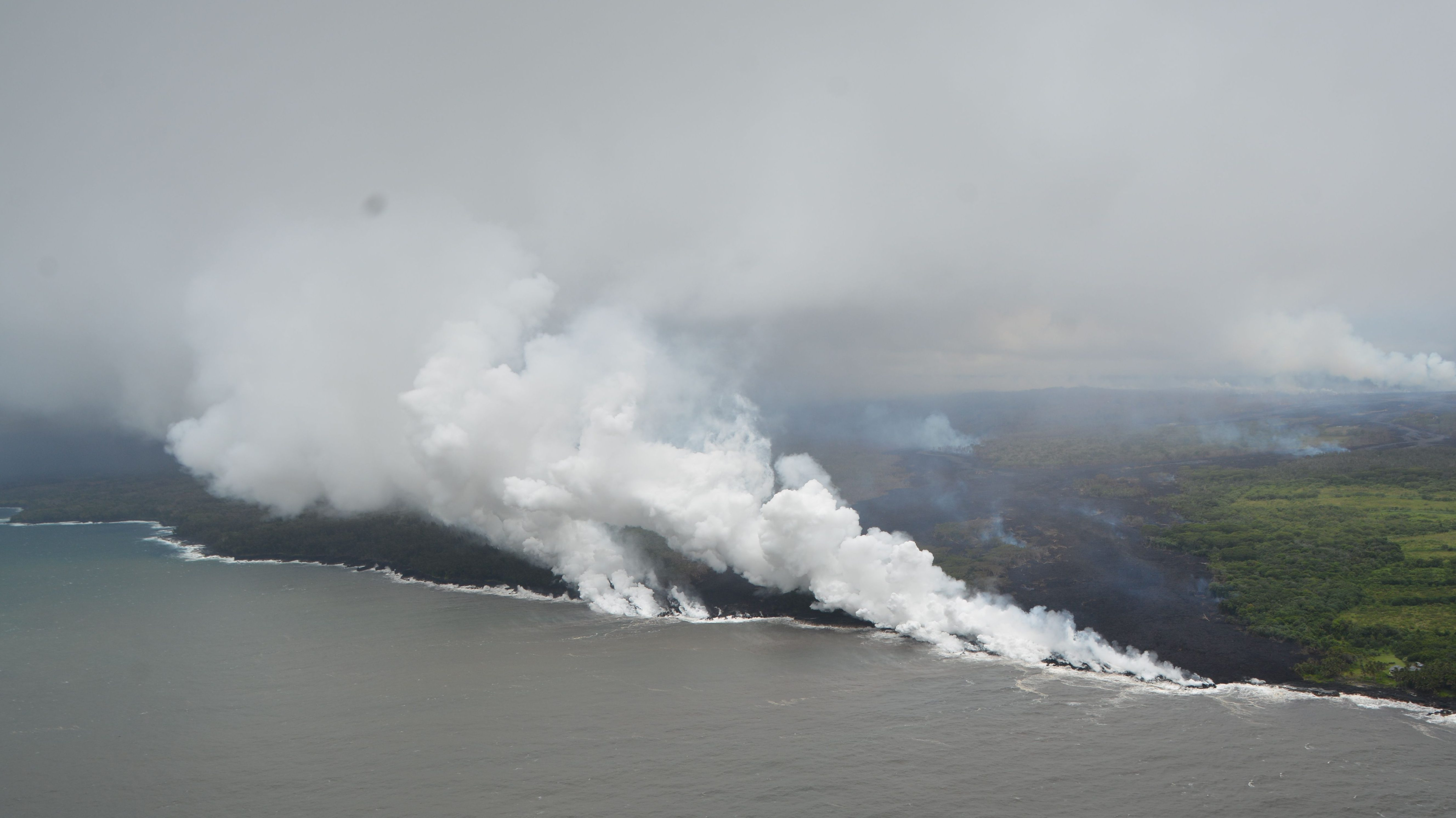 Hawaii volcano creates toxic steam clouds as corrosive as diluted battery acid