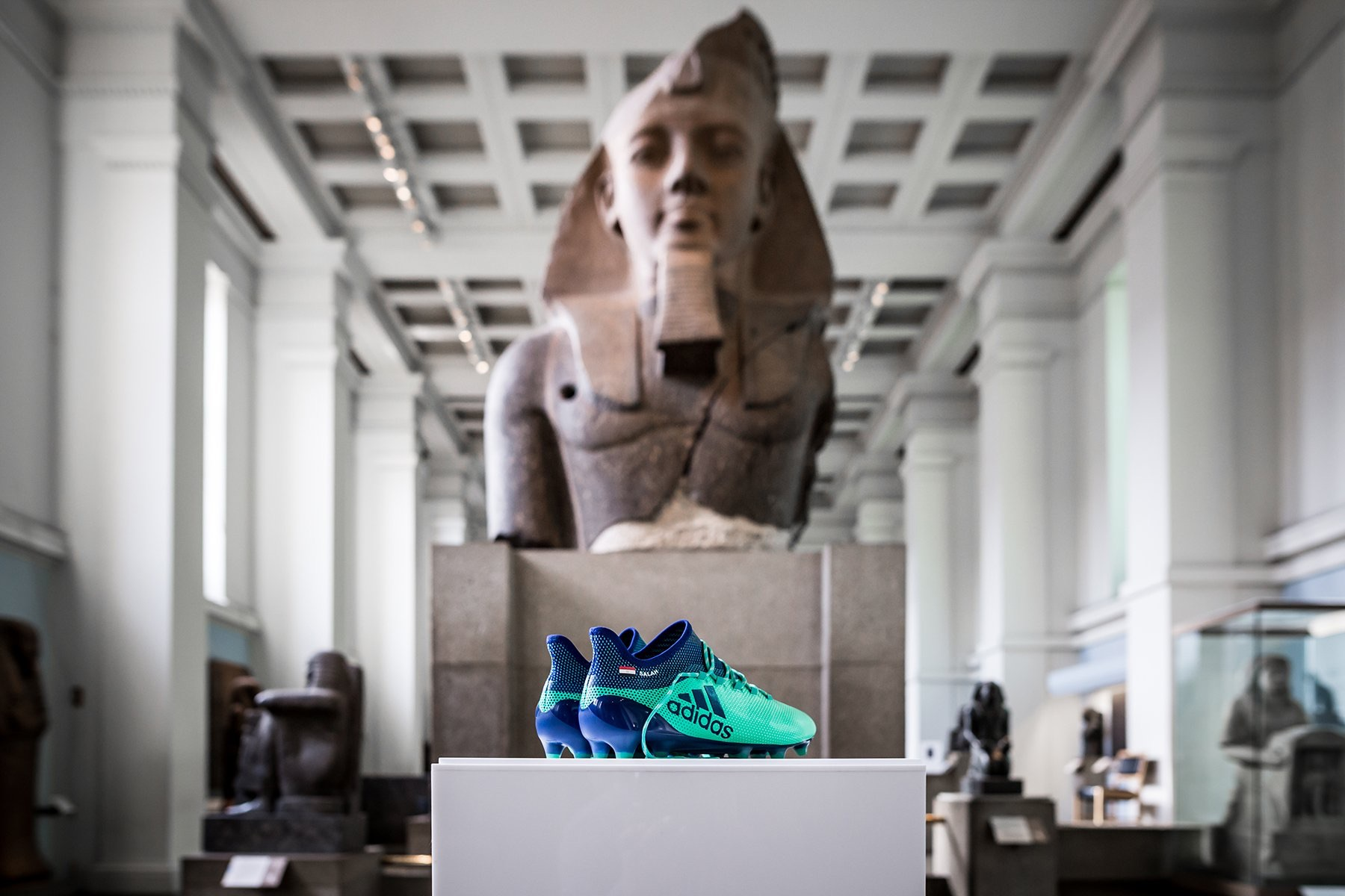 The boots of soccer's standout star of 2018 are going to the British Museum
