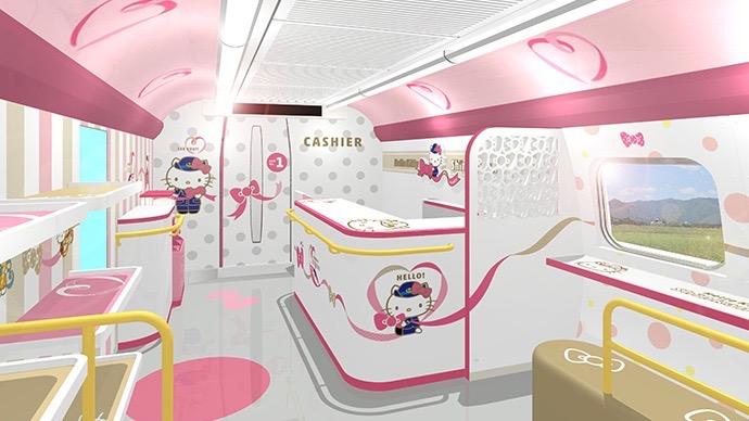 The Hello Kitty Train.
