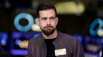 Square CEO Jack Dorsey is interviewed on the floor of the New York Stock Exchange, Thursday, Nov. 19, 2015.