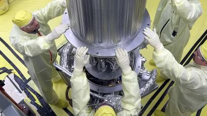 NASA's KRUSTY nuclear reactor could provide energy for long-term space missions.