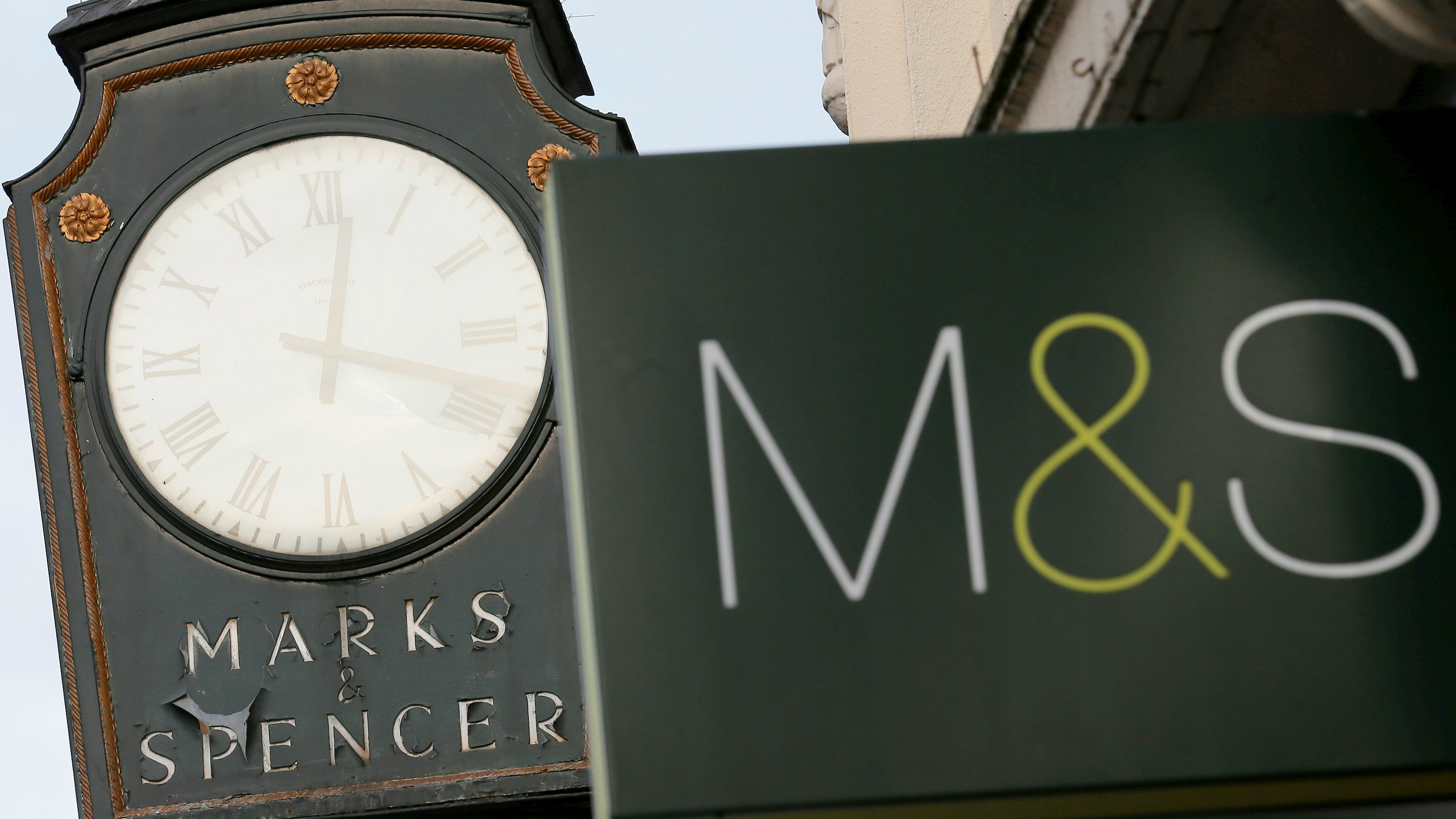 M&S reveals 62% annual profit slump to £66.8m