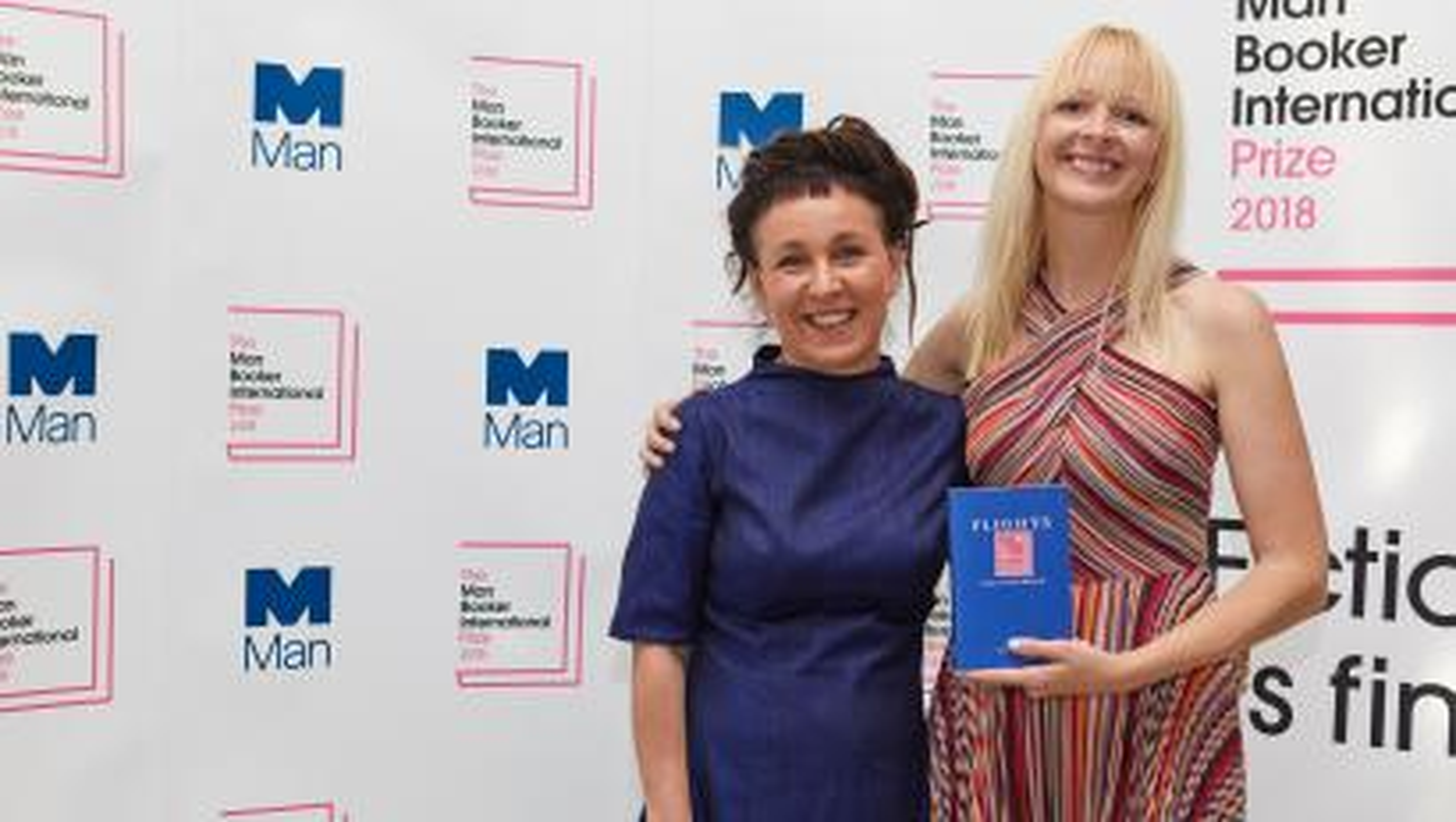 Author Olga Tokarczuk Jennifer Croft Man Booker International Prize