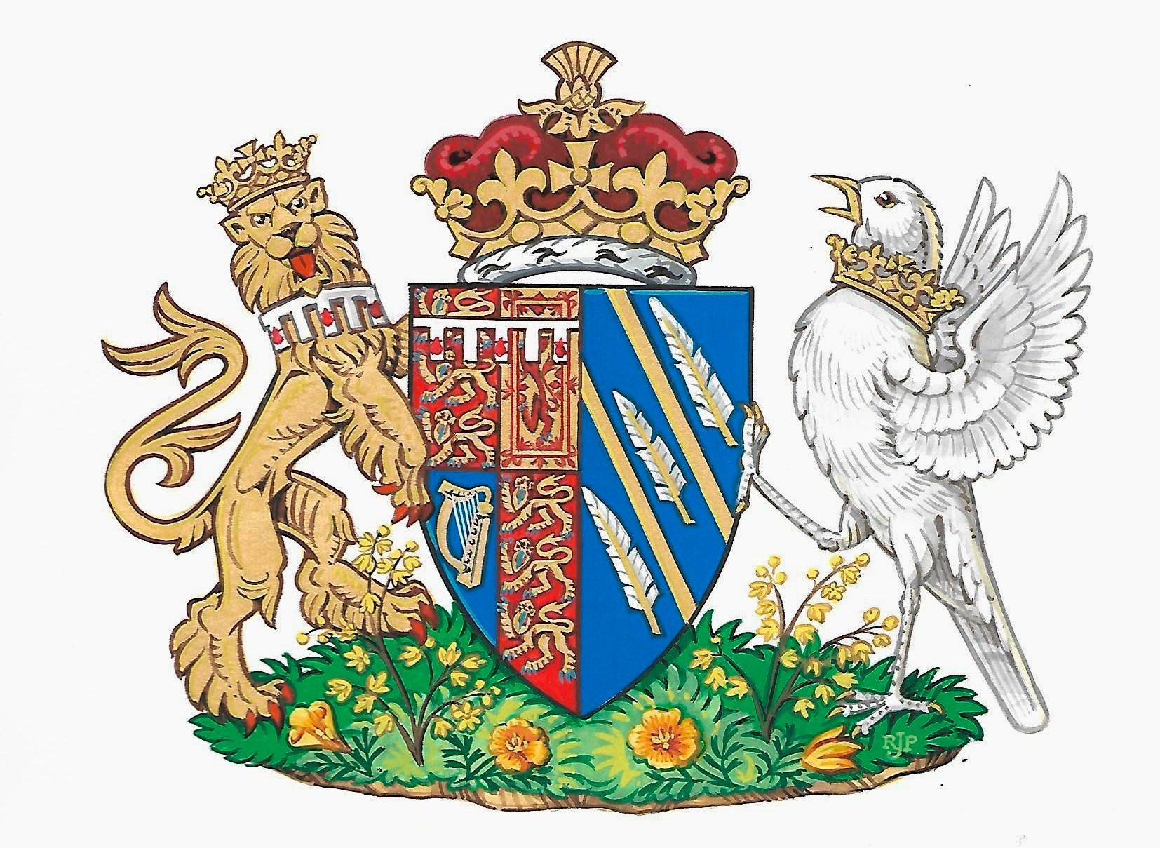 Meghan Markles Coat Of Arms Is A Tribute To Her California Roots