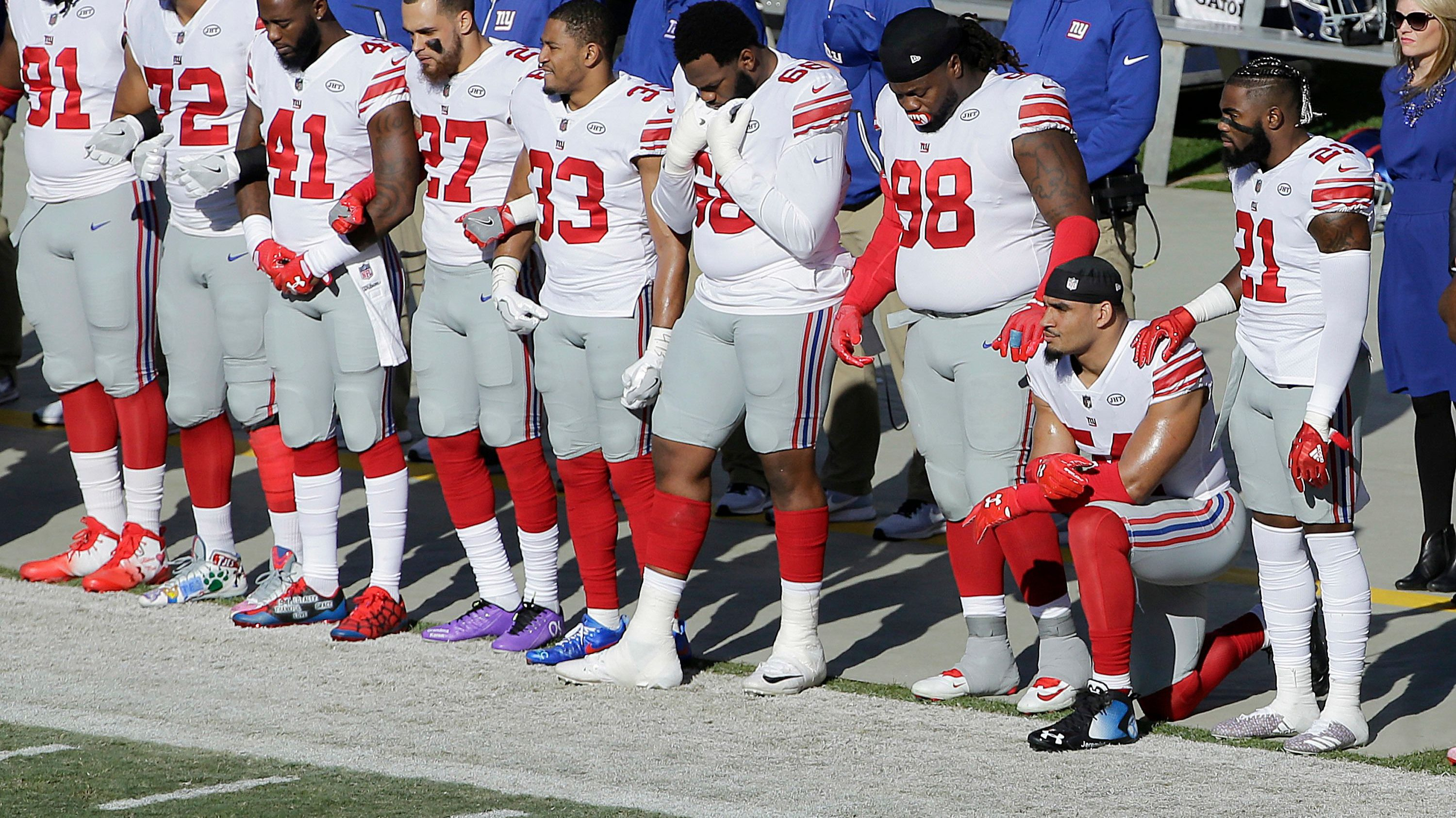 NFL national anthem policy