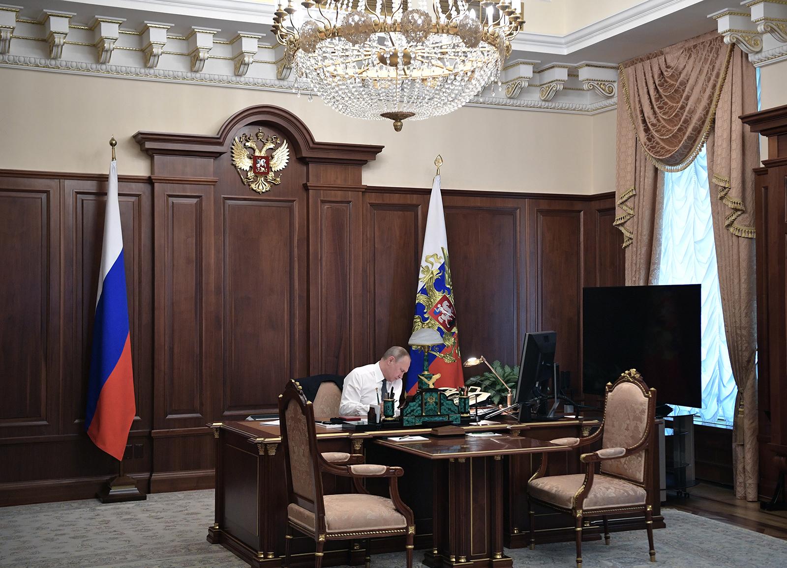 Photos Of Vladimir Putin S Inauguration Ceremony And Cortege Limo