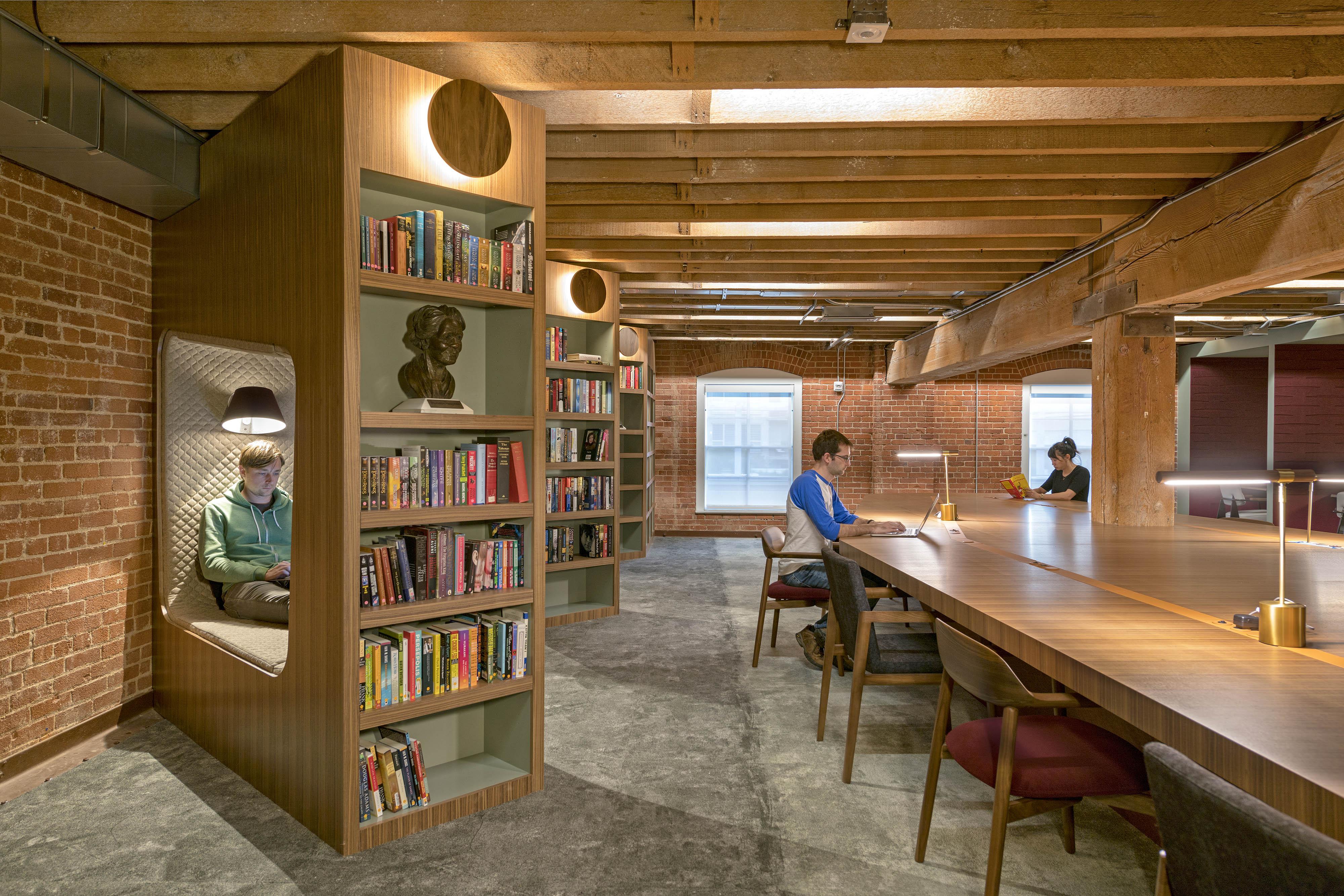 GitHub's refurbished San Francisco headquarters is designed