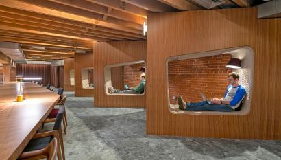 The new design for the San Francisco GitHub office.