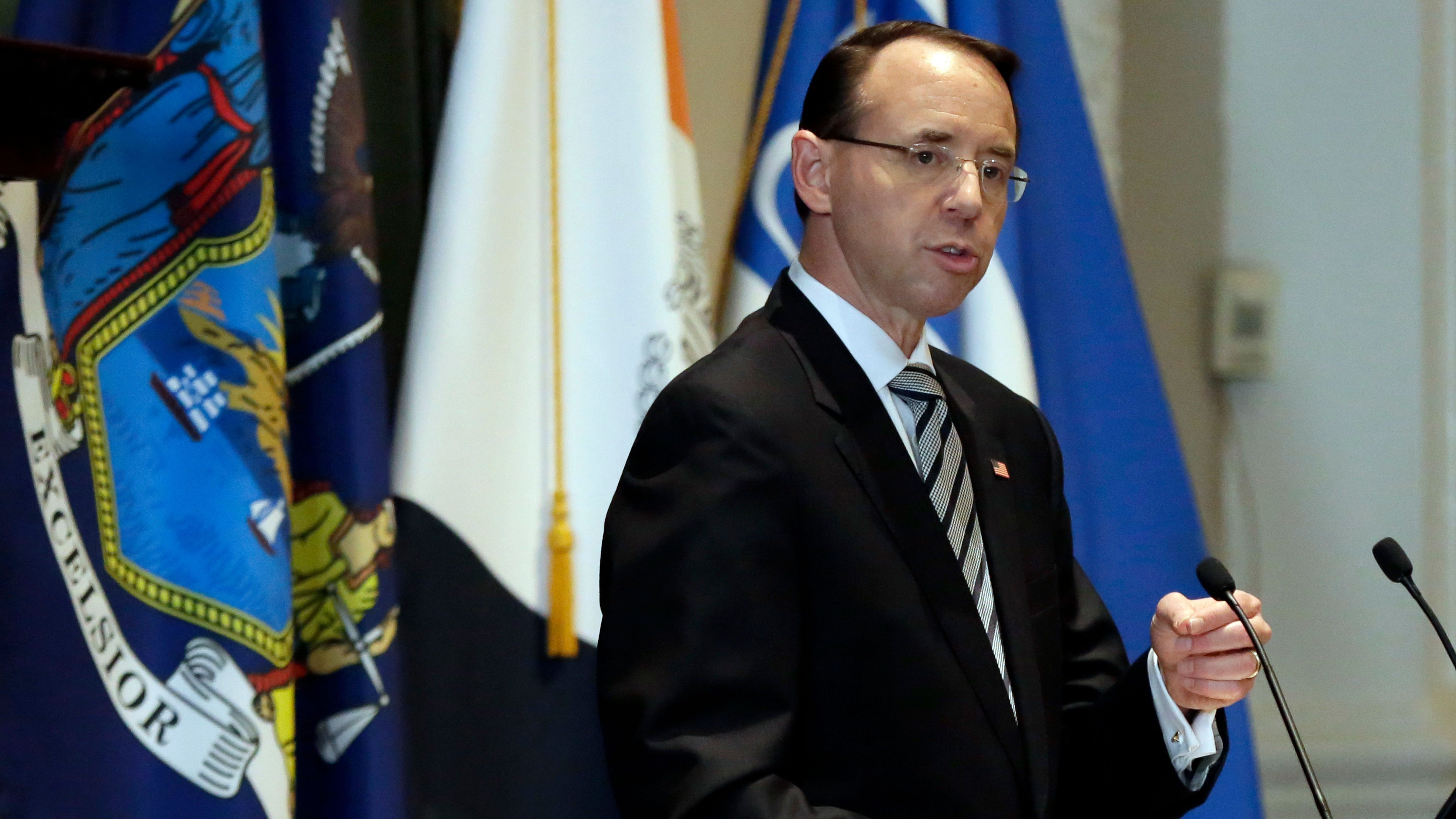 "Rosenstein said he was used to ""unfair"" criticism"