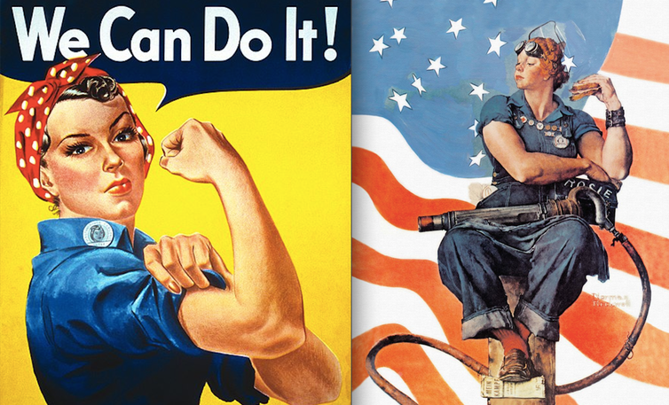 How The Famous Rosie The Riveter Poster Became A Symbol Of Female