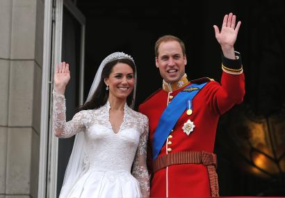 Britain S Prince William And His Wife Catherine Ss Of Cambridge Wave From The Balcony