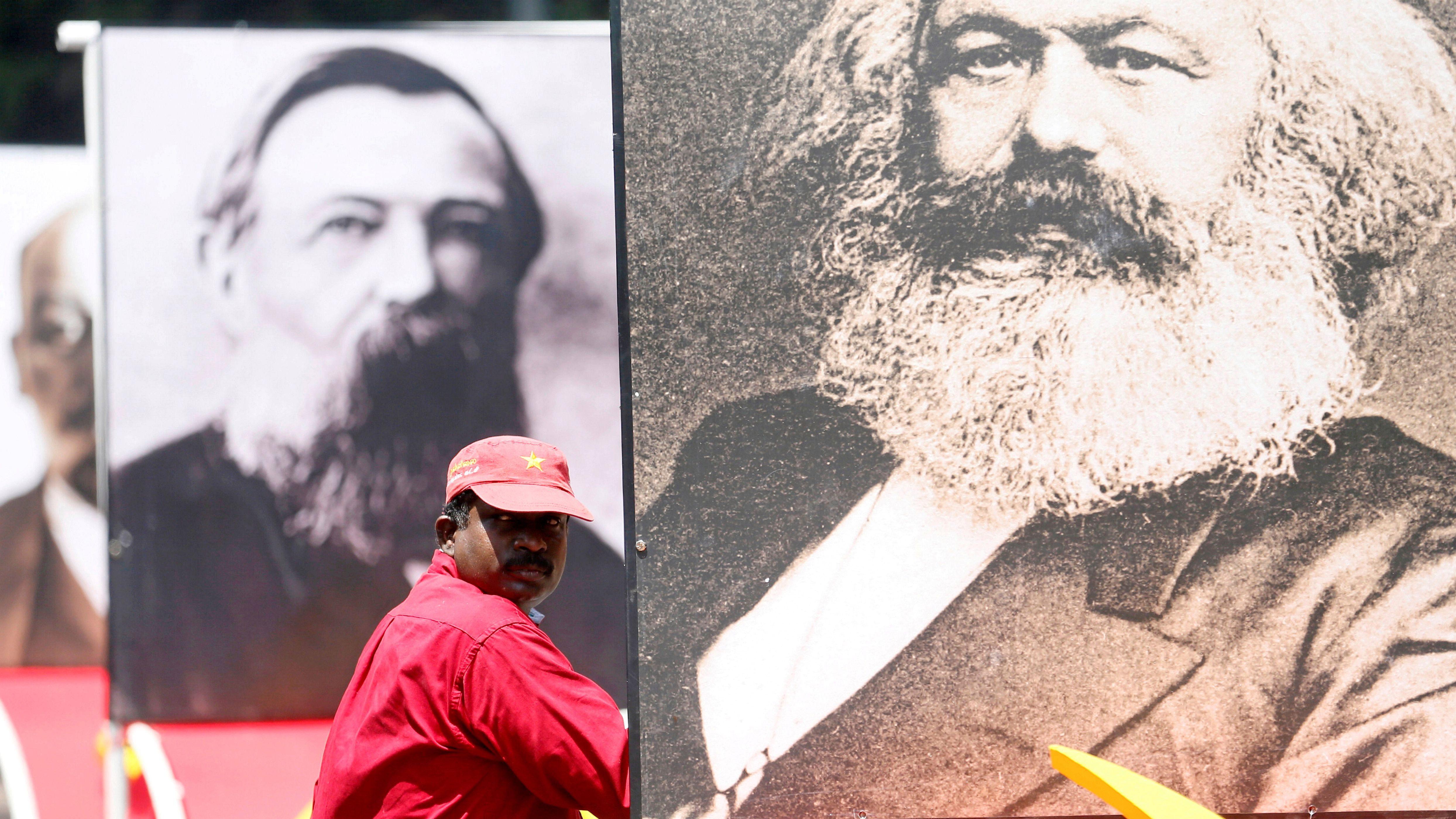 Karl Marx is still relevant.