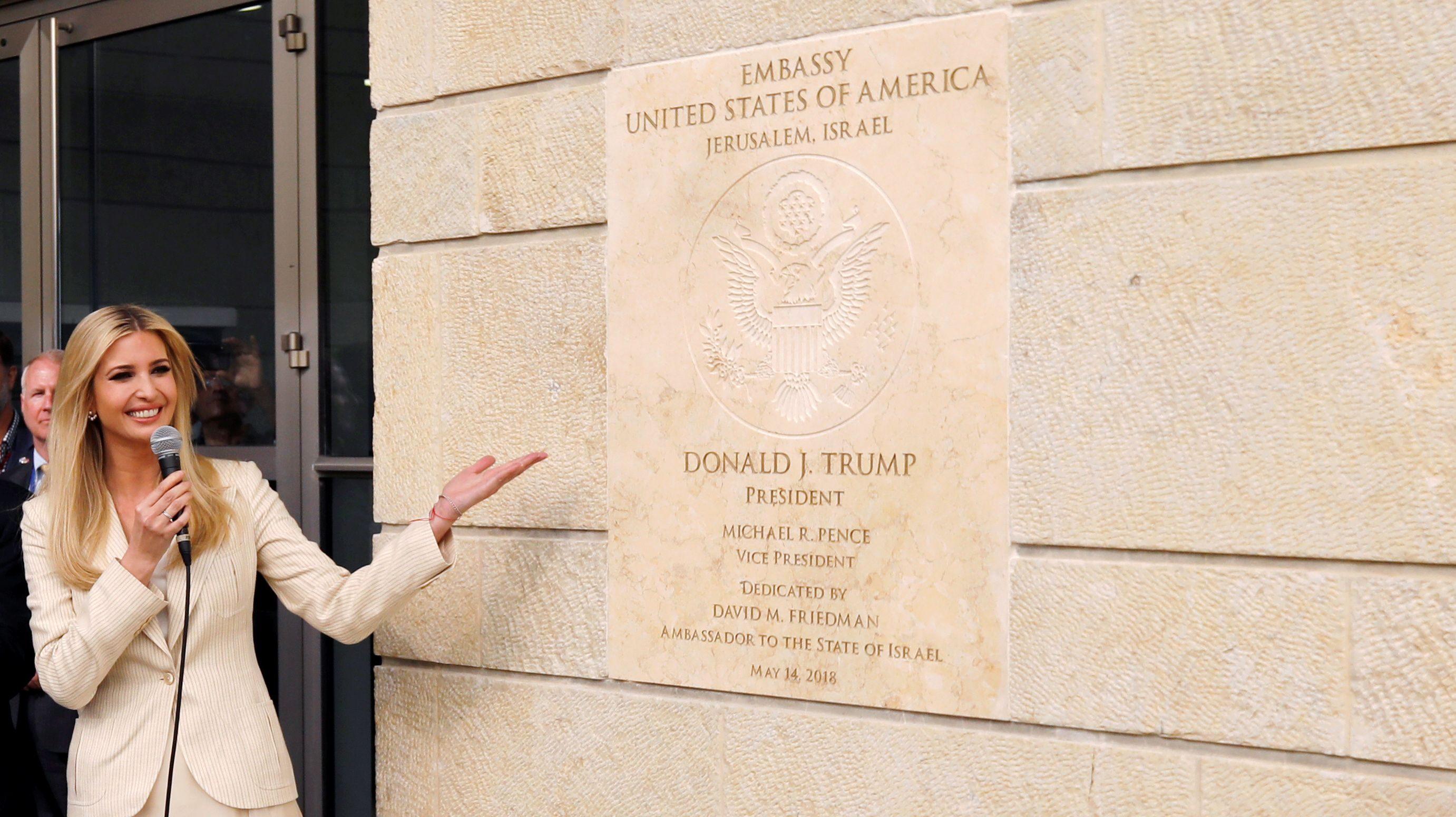 Image result for jerusalem us embassy may 14 2018