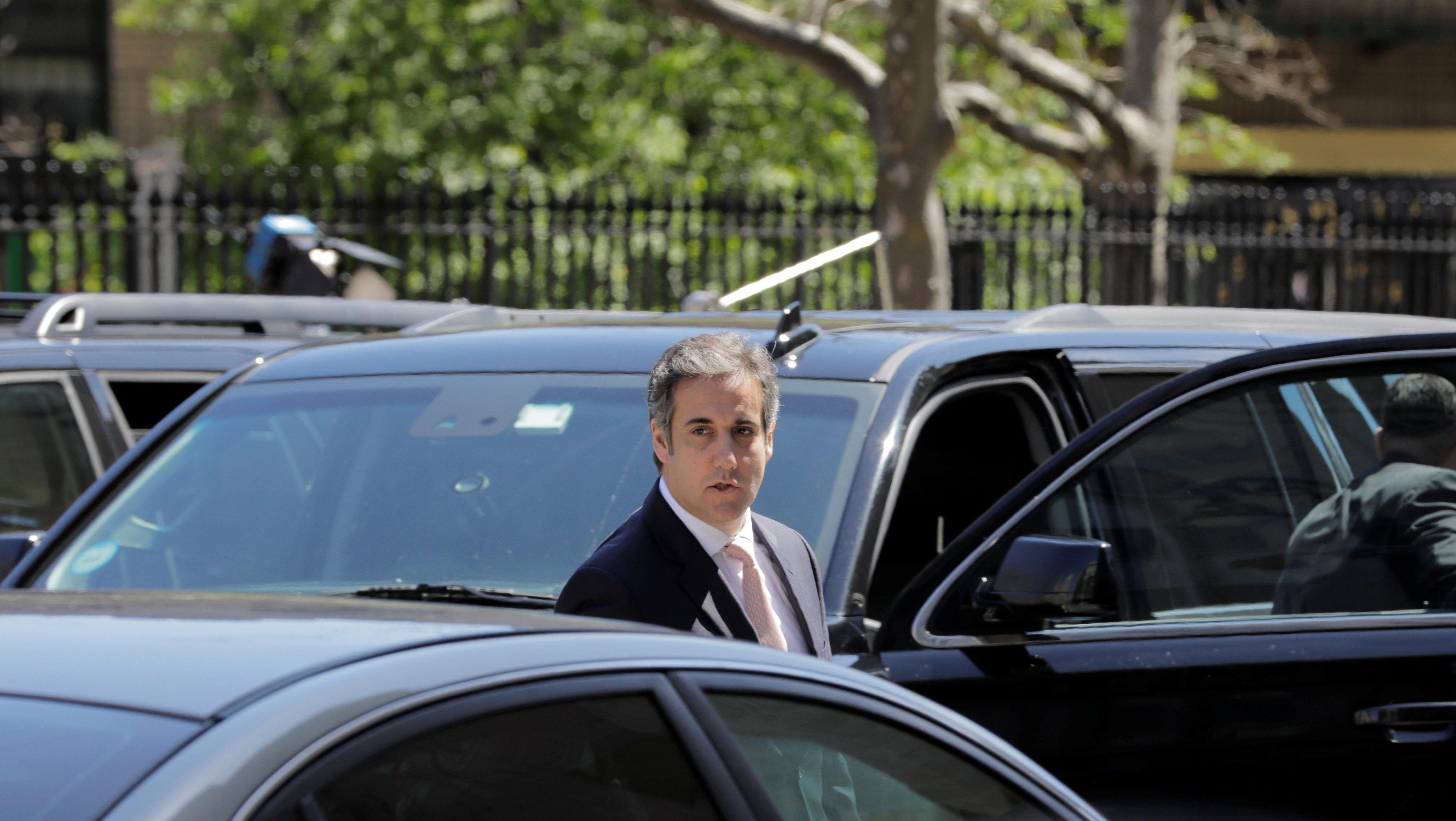 U.S. President Donald Trump's personal lawyer Michael Cohen