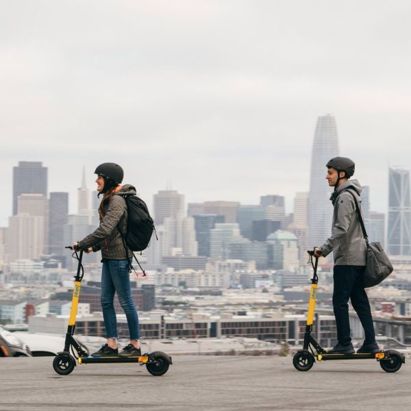 Skip Scooters Commute
