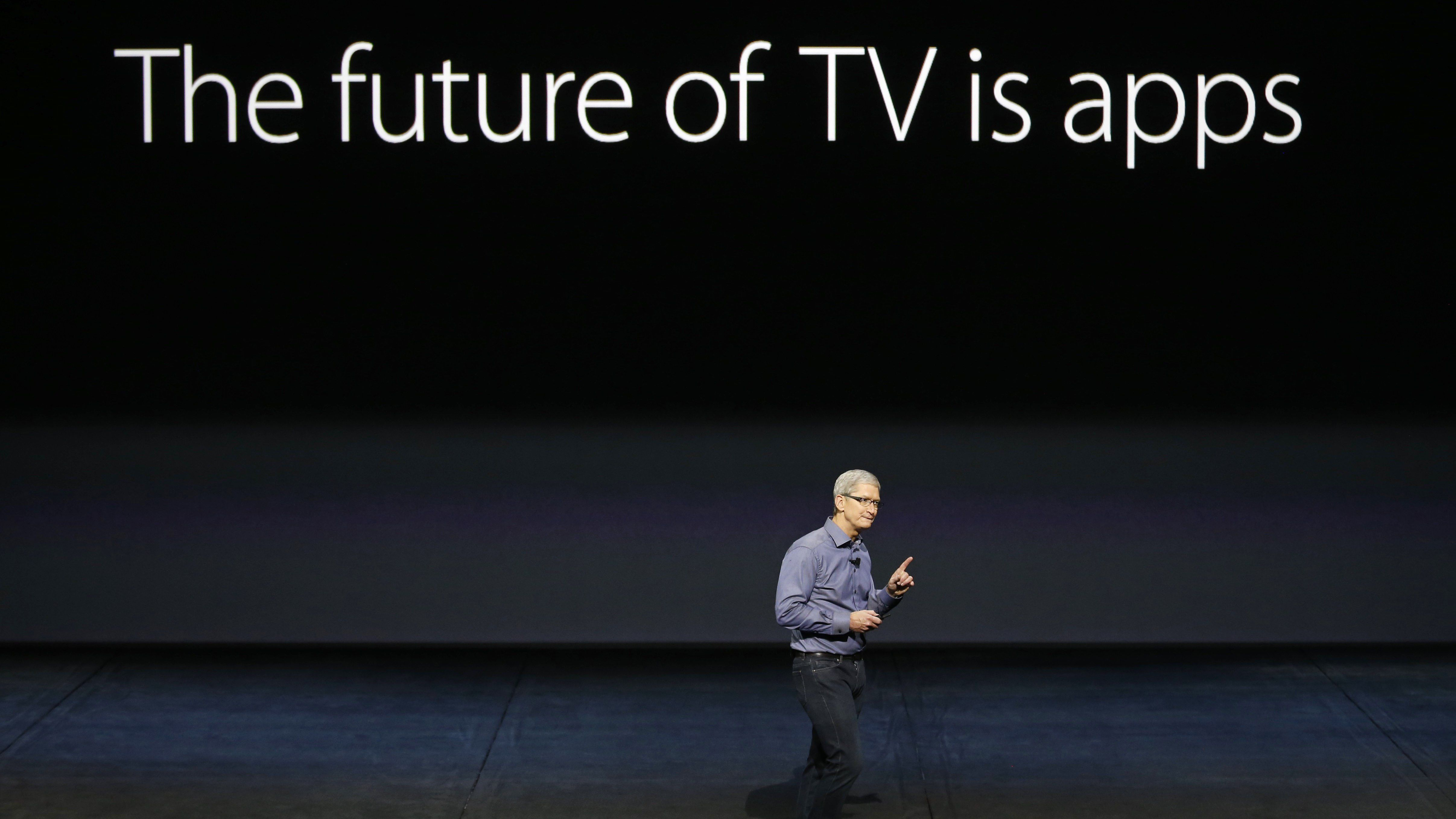 Tim Cook TV