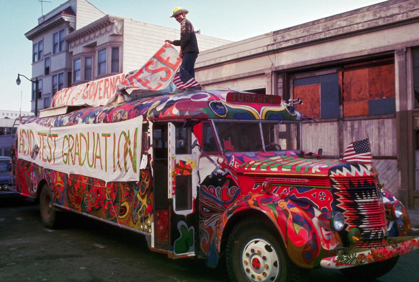 Zane Kesey And The Merry Pranksters Announce Furthur