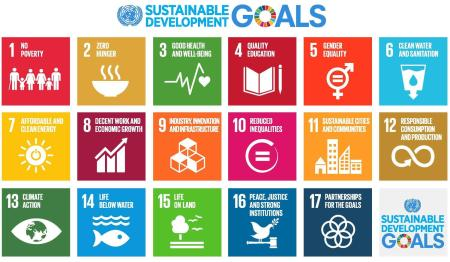 The UN's Sustainable Development Goals apply to all countries and were adopted in 2015.