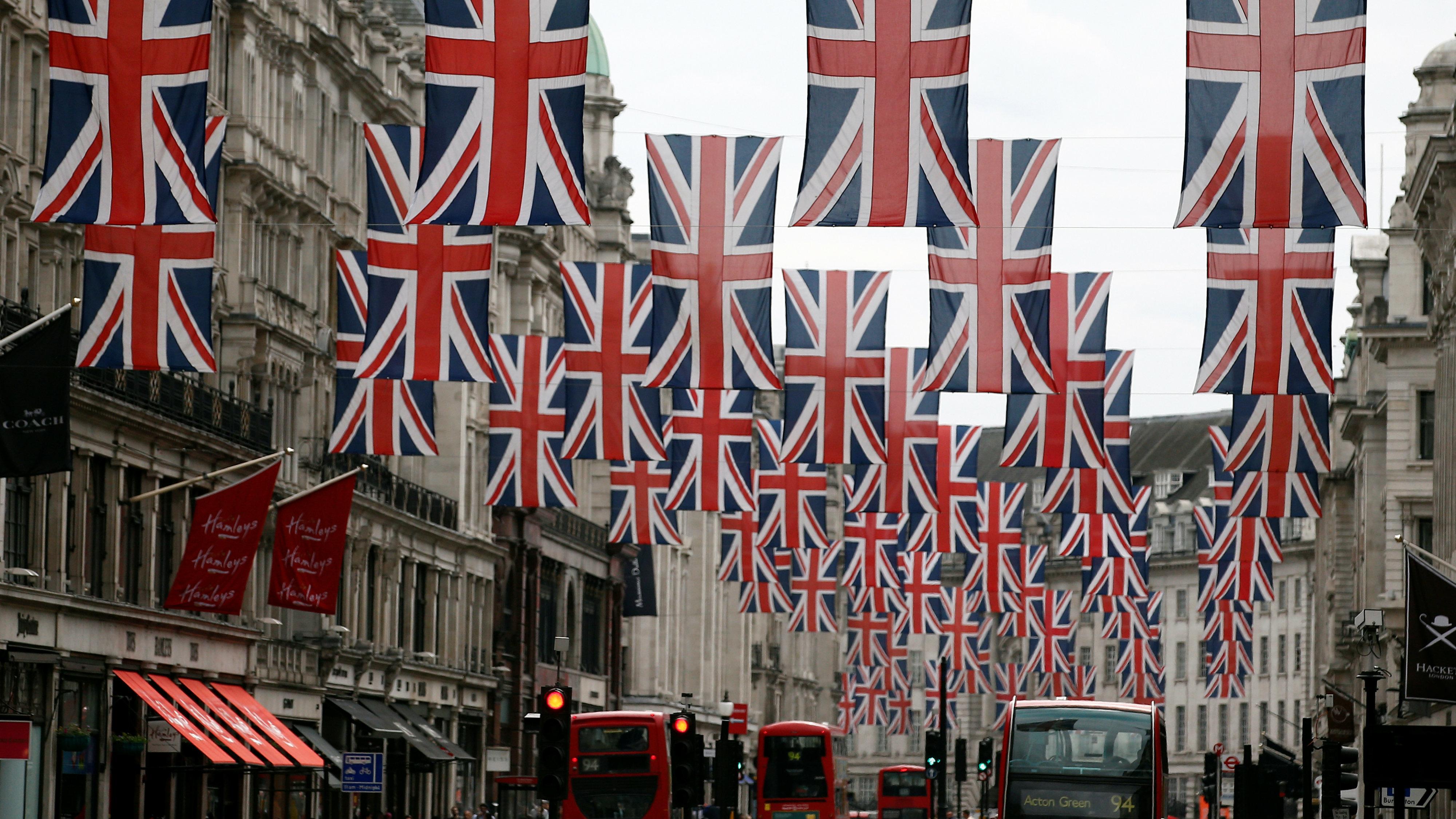 Union jacks for royal wedding