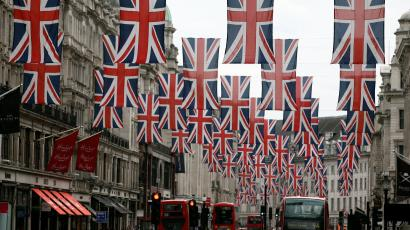 Union jacks for royal wedding